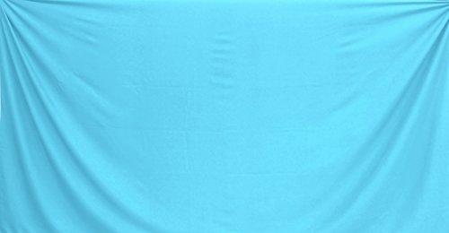 La Leela Mens Bademode Badeanzug Badeanzug hawaiische Sarong Pareo Wickel verschleiern Hellblau