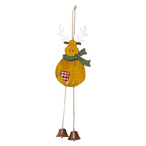 Lemons Accent Lamp - Alimao Clearance sale Christmas Wooden Decoration Tag Christmas Tree Creative Bell Pendant