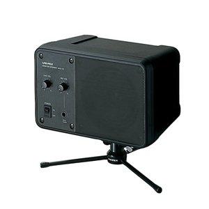 ユニペックス アンプ内蔵モニタースピーカー ブラック艶消し MAS-102A B003JRA0YC