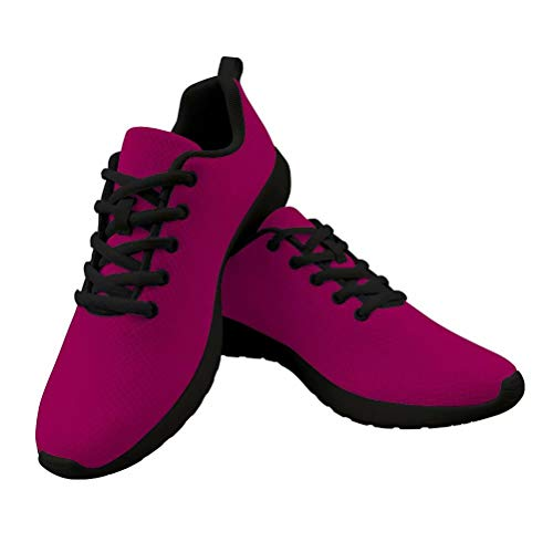 PinUp Angel Wine RED Athletic Walking Shoe Casual Comfortable Breathable Travel Work Sneaker