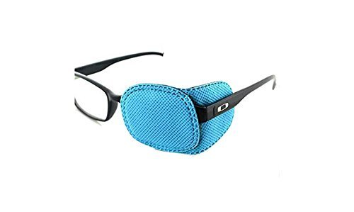 6PCS Kid's Childrens Amblyopia Eye Patch For Glasses for Treat Strabismus Lazy Eye Patch(Blue) erioctry