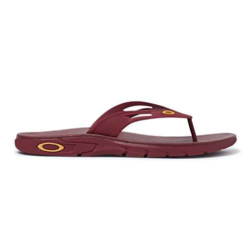- Oakley Ellipse Flip Sandal (Sundried Tomato, 13)