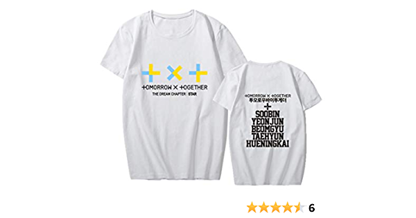 KPOP TXT Camisetas de Manga Corta Tomorrow X Together Tops ...