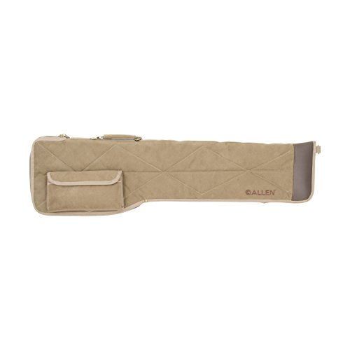 Allen Company Select Gun Case, Canvas & Leather with Quilted Lining