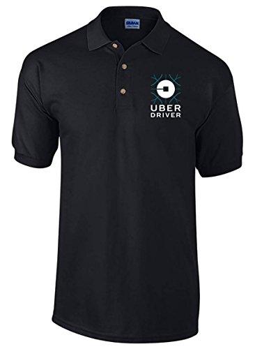 Uber Polo Shirt  Professional Uber Driver Shirt  Uber Shirt