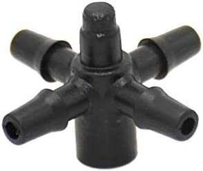 HXIANG システムアダプタ25pcs矢印スポイト水スプリッタークロス2ウェイコネクタ3/5ホースドリップ矢印1/8