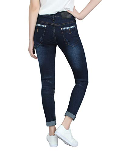 Skinny Jeans 608 Demon X E8058 Series Mode Femme Marine Normal X amp;Hunter nxRBBqXSZw