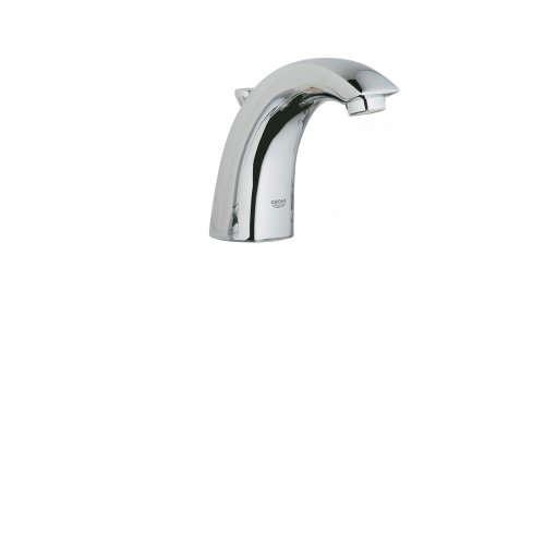 Grohe 20 121 00E Arden WaterCare Wideset Lavatory, Spout Only, Handles Not Included, StarLight (Arden Lavatory)