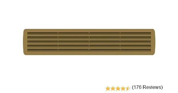 varios colores rejilla de ventilaci/ón Rejilla de pl/ástico de ventilaci/ón para ba/ño blanco rejilla de ventilaci/ón para puertas 1/par