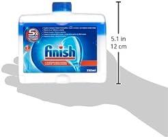 Finish Limpiamáquinas Líquido para lavavajillas - 2 unidades ...