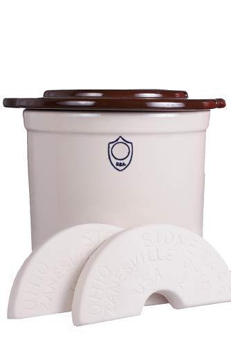 stoneware 2 gallon crocks - 9