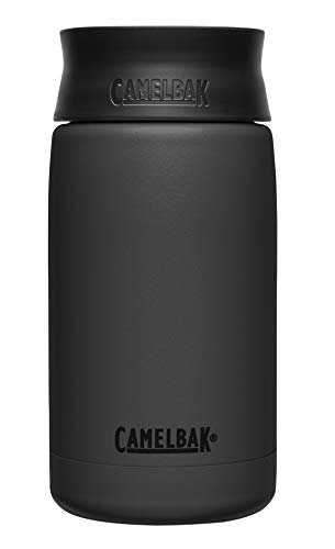 CamelBak Hot Cap Vacuum Stainless 12oz, Black, Black, 12 Oz