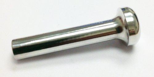 Knob Polished Billet (Billet Door Lock Knob, Round Head, POLISHED (Pair) - DLKRH-P)