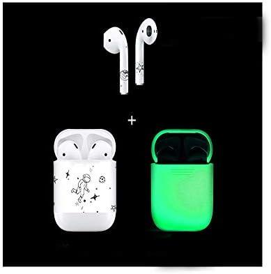 Qiaoxianpo01 Funda para Auriculares, Estuche para AirPods, Linda Etiqueta Bluetooth Auricular Caja de Carga Accesorio, Silicona Creativa se llevará con Usted Lindo (Style : C): Amazon.es: Electrónica