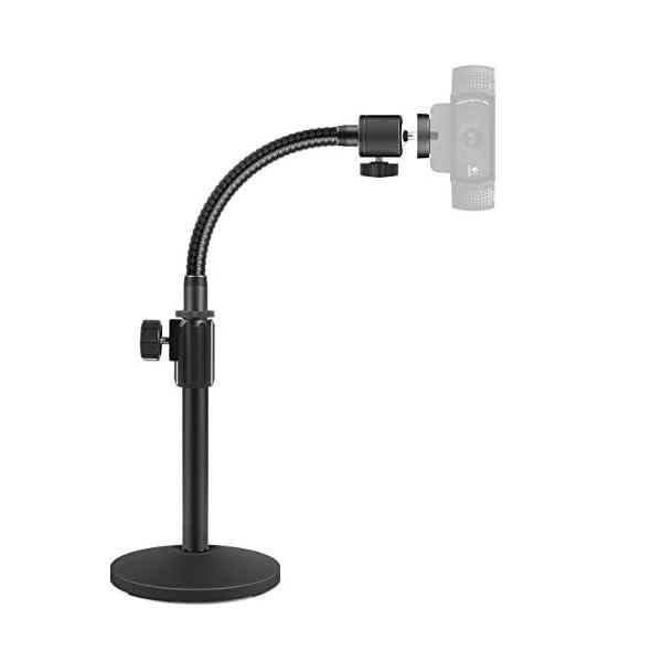 InnoGear Webcam Stand Upgraded Flexible Desktop Stand Gooseneck Stands Holder for Logitech Webcam