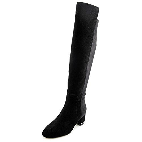 MICHAEL Michael Kors Women's Sabrina Over the Knee Boots, Black, 10 B(M) US by MICHAEL Michael Kors