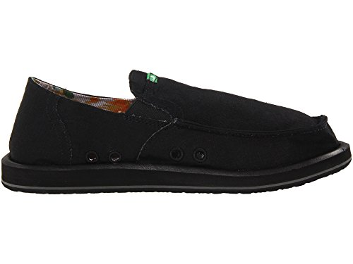 tela hombre 29418012 Sanuk para Mocasines de Pick Black Pocket qwHxTO