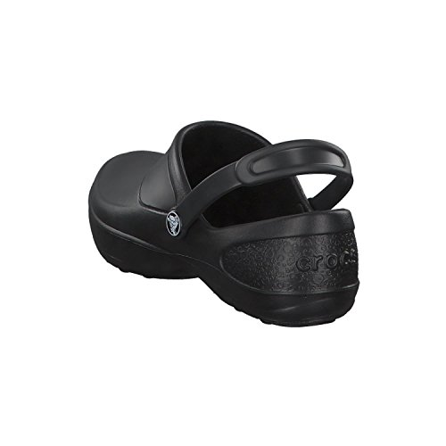 Unisex 8 Crocs Black 8 Clog Size Black on Work Croslite Black Mercy Slip FgxOqgTB