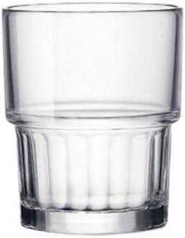 Bormioli Rocco - Lyon copa de agua, 21 cl, apilable, endurecido, 6 copas