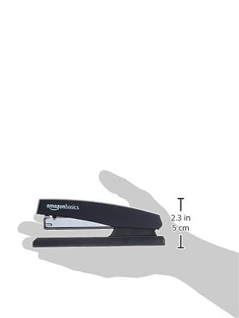 Basics Confezione da 1 Nero Spillatrice con 1000 punti metallici
