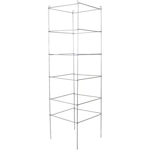 Grower's Edge 6-Tier Commercial Grade Folding Tomato Cage - 72'' x 21'' x 21''