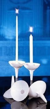 Plastic Handle Drip Protectors for 1/2'' Candle by Church Supply Warehouse (Image #1)