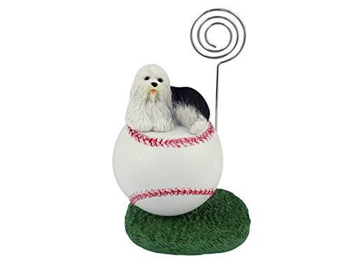 Conversation Concepts Old English Sheepdog Baseball Note ()