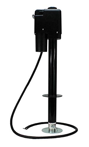 Quick Products Black JQ-3500B Electric Tongue Jack