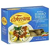 Ferrara - Italian Style Jumbo Shells, (3)- 12 oz. Boxes
