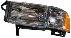 TYC 20-3017-78 Compatible with DODGE Driver Side Headlight Assembly