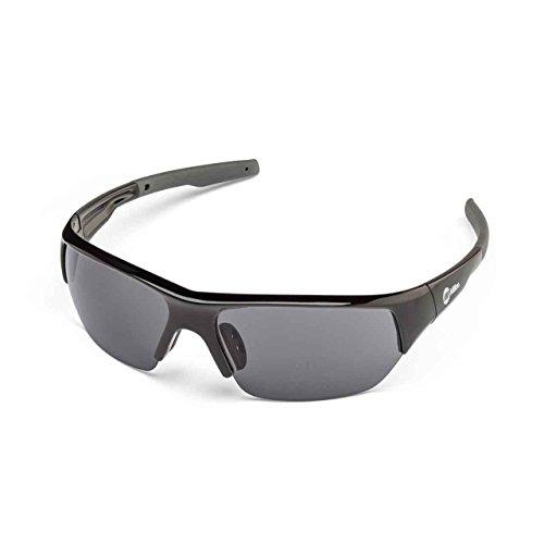 Miller 272195 Spatter Safety Glasses Smoke Lens/Black Frame