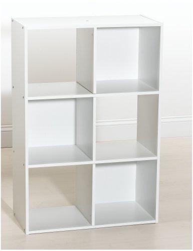 ClosetMaid 8694 6-Cube Organizer, White (Closetmaid 8996 Cubeicals Organizer 6 Cube White)