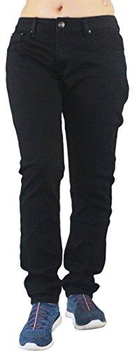 Womens Freesia - Freesia Women's Plus Size Basic Stretchy Leggings Skinny Jeans (18, Black)
