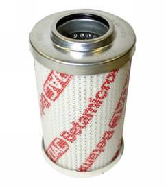 Hydac 01250530-0400 DN 010 BN4HC Hydraulic Filter Element - Pressure, Cartridge, Fiberglass, 10 micron, 150 gpm Maximum Flow Rate