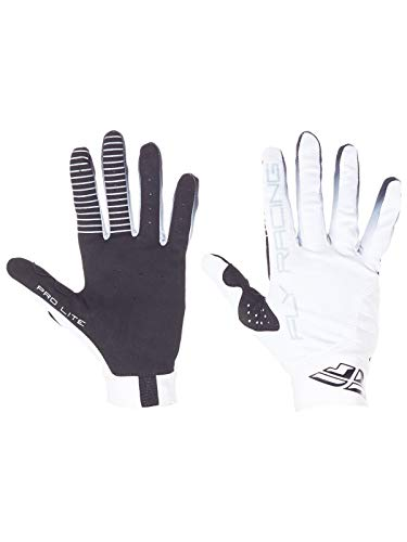 Fly Pro Lite Gloves - Fly Racing White 2017 Pro Lite Mx Gloves (Xl, White)