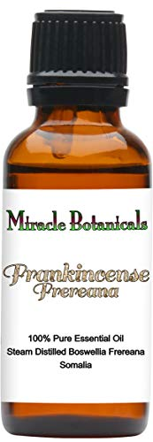 Miracle Botanicals Wildcrafted Frankincense Frereana Essential Oil - 100% Pure Boswellia Frereana - Therapeutic Grade - 30ml from Miracle Botanicals