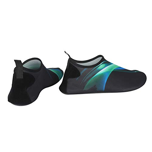Barefoot Water Aqua Surf Beach Green Mens Swim Shoes for Aurora Yoga and Quick Womens Socks Dry Vaincre Exercise Xtqg88