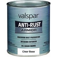 - 1 Quart Clear Base Gloss Anti Rust Armor Oil Based Enamel Paint 44
