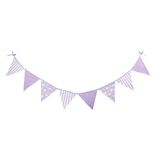 CoCaLo Mix & Match Decorative Flags, Violet