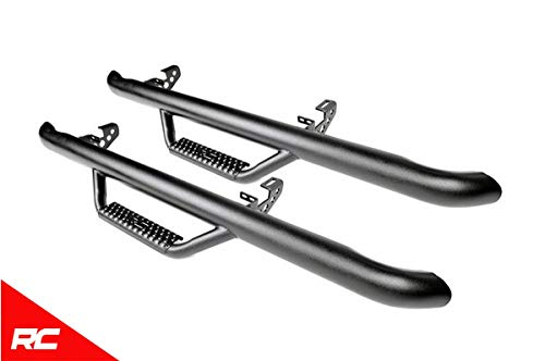 Rough Country Nerf Bar Hoop Steps Compatible w/ 1997-2006 Jeep Wrangler TJ Side Steps Rock Sliders RCJ9746