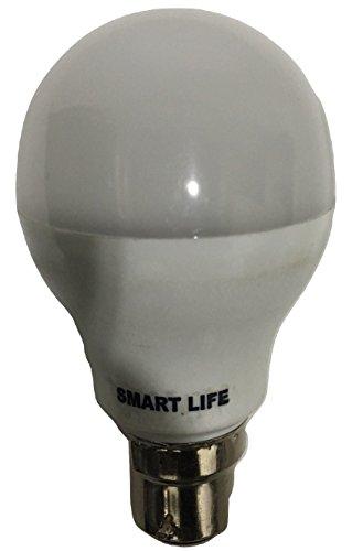 Smart Life Led Bulb White 7 Watt(3 Bulbs) and 5 Watt (3 Bulbs) Pack of 6 (Cool Day Light)