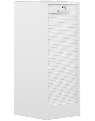 Symbiosis 7143A2121R91 - Archivador con puerta de persiana (106 cm, tablero de madera aglomerada