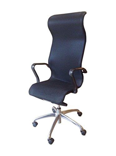 Ergonomic High Back Office Chair (Black Black) price