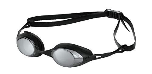 (Arena Cobra Mirror Goggle, Smoke/Silver/Black, Size)