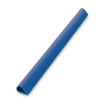 100x DURABLE Klemmschiene DIN A4 30 Blatt Kunststoff transparent