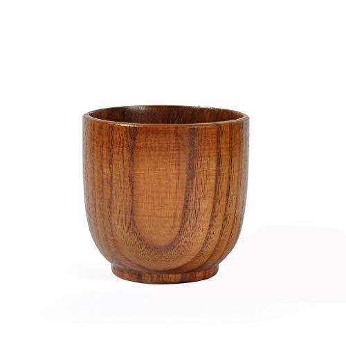 CCFAMILY Natural Wooden Cup Wood Coffee Tea Beer Juice Milk Water Mug Handmade