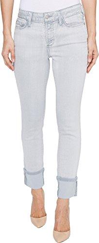 Cuff Skinny Jean (NYDJ Women's Alina Wide Cuff Skinny Ankle Jeans, Reims, 12)