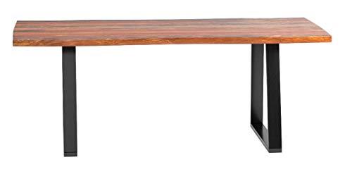 Coaster Jamestown Dining Table, Grey/Black