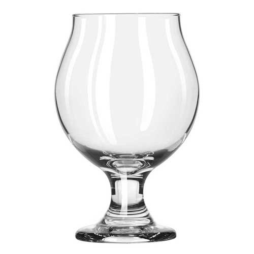 Libbey Stacking Belgian Beer Glass, 10 Ounce - 12 per case.