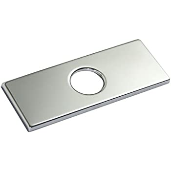 KES 6-Inch Sink Faucet Hole Cover Deck Plate Square Escutcheon for ...